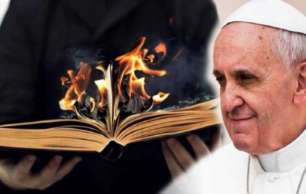 It's fake news that the Pope cancelled the Bible - Is this Still God or Satan