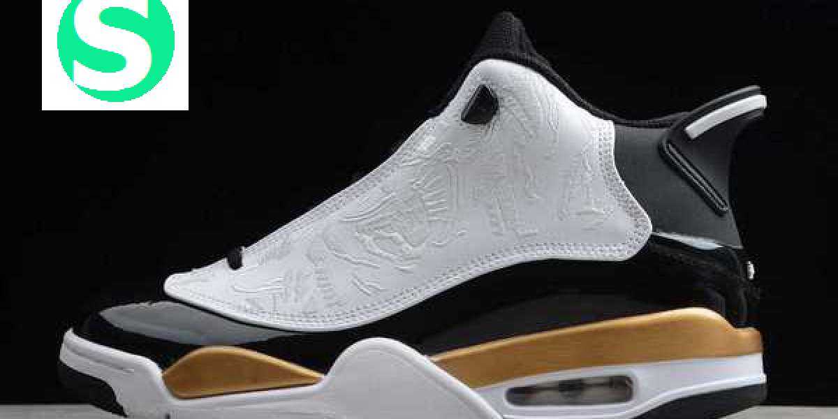 "Air Jordan Dub Zero ""DMP"" White/Black-Metallic Gold 2020 New Released 311046-005"