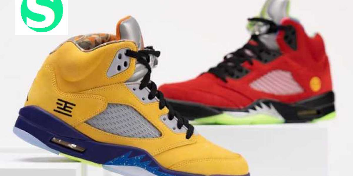"""Color combination! This pair of AJ5 is more surprising than expected!Air Jordan 5 """"What The"""" CZ5725-700"""