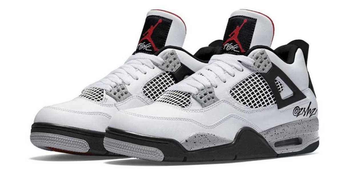 "Latest Nike Air Jordan 4 ""White Cement"" CT8527-100 To Release On May 29th 2021"