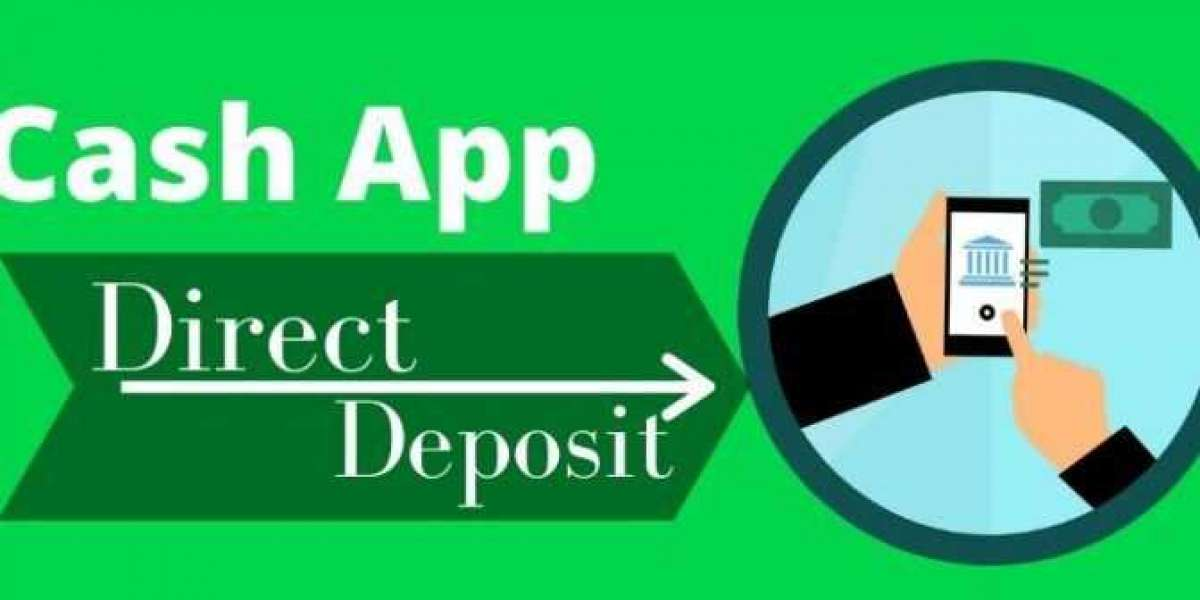 1-888-498-0162| How to Enable Cash App Direct Deposit?