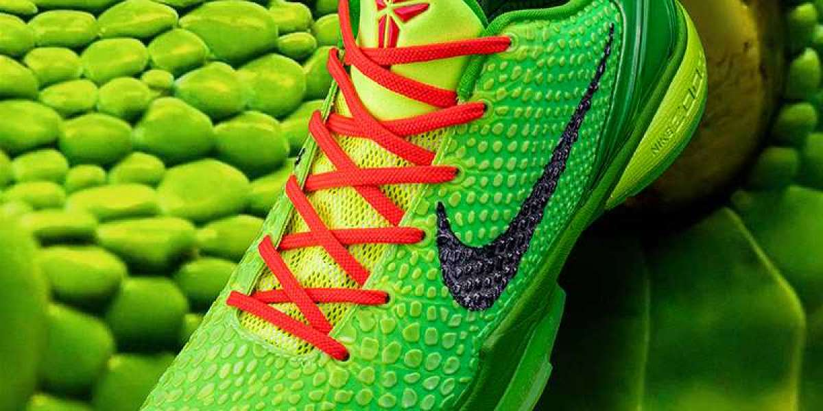 """Nike Kobe 6 Protro """"Grinch"""" CW2190-300 Hot Sell,The Details Are Not Enlarged Enough To See"""