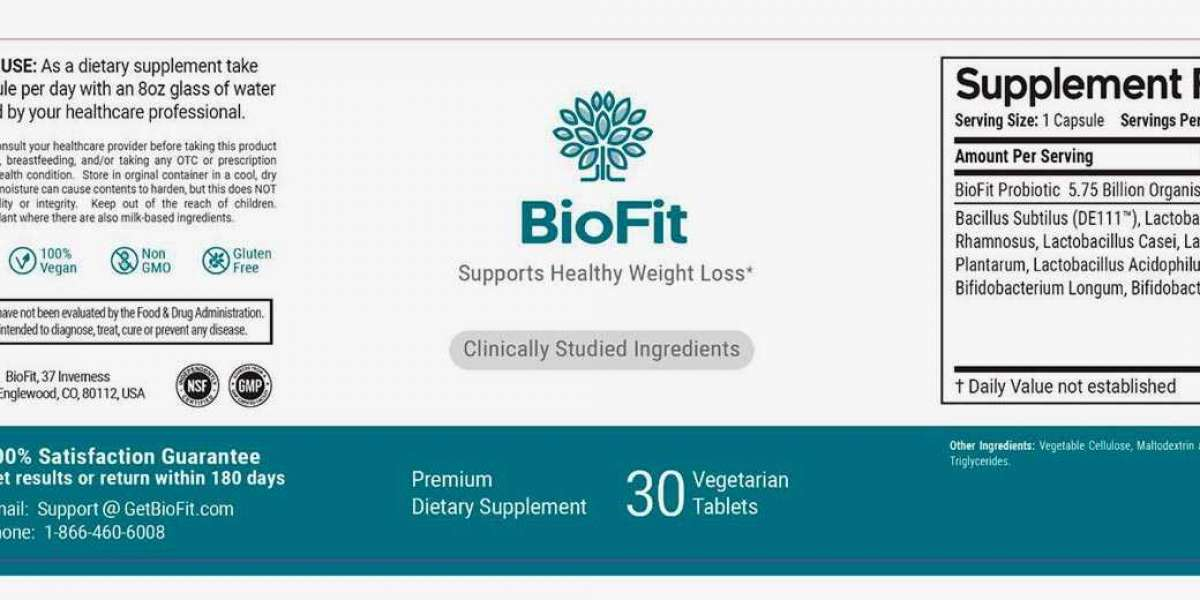 Biofit Probiotics Are Here To Help You Out